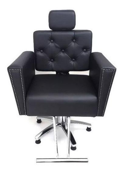 Poltrona Cadeira Sofia Fixa Salao Beleza