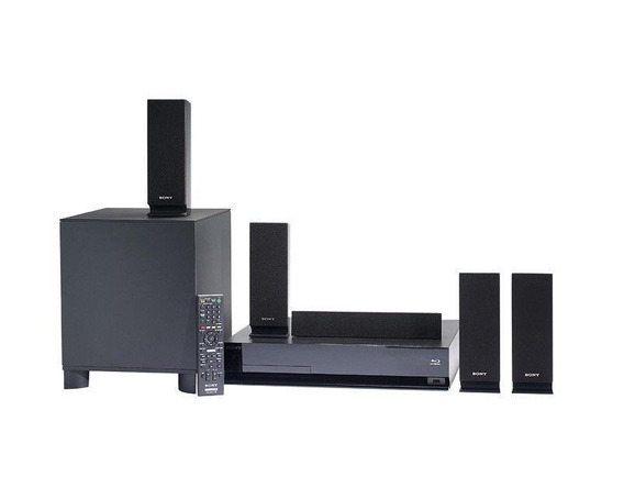 Home Theater System Sony 5.1 Bluray Disc System 3d