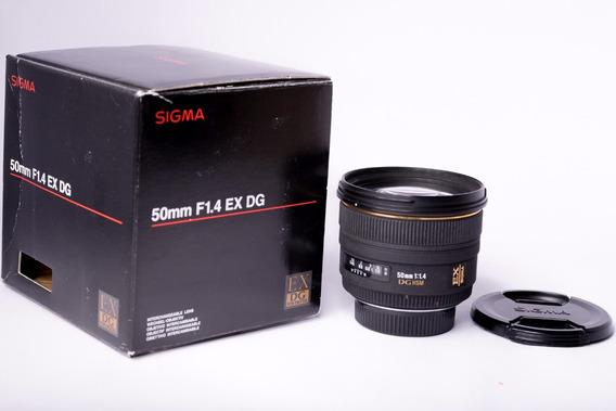 Sigma 50mm 1.4 Dg Hsm Ex Para Nikon