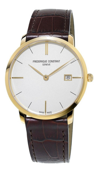 Reloj Frederique Constant Fc-220v5s5 Para Caballero Correa De Piel