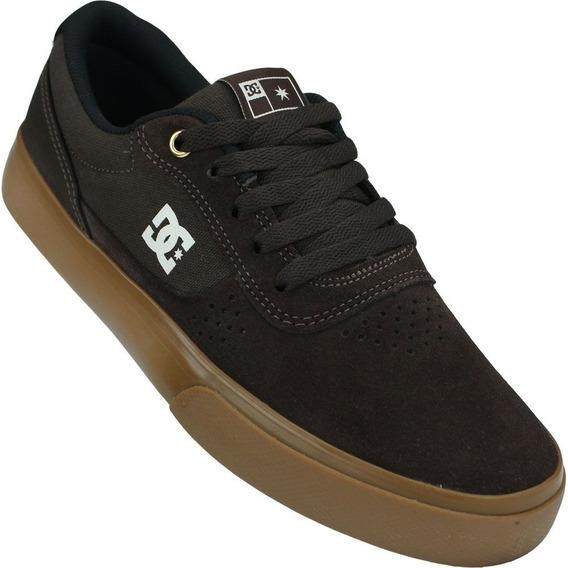 Tênis Dc Shoes Switch S Marrom Nº 43 Promoção Imperdível