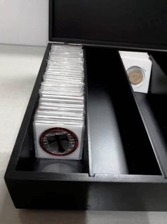 Caixa Porta Antiguidade Moeda Cédula Coleção Raridades G