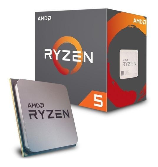 Processador Ryzen 5 2400g Am4 3.6ghz 6mb Cache Radeon Vega