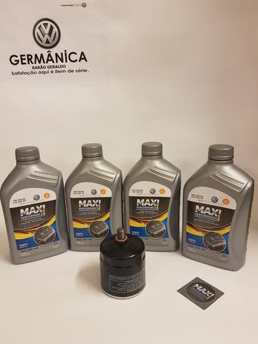 Oleo Shell Max 508 5w40 E Filtro De Óleo Linha Nacional Vw