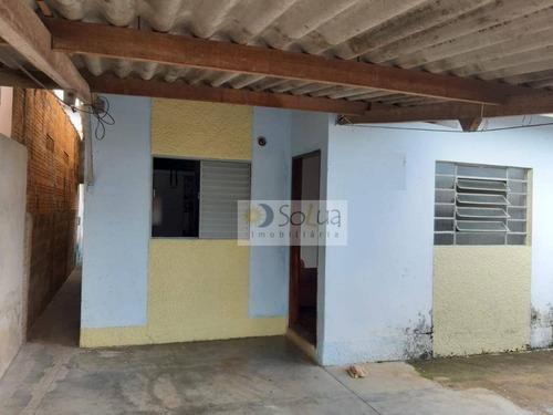 Casa Com 3 Dormitórios À Venda, 153 M² Por R$ 250.000,00 - Conjunto Habitacional Padre Anchieta - Campinas/sp - Ca0726