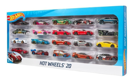 Hot Wheels Paquete De 20