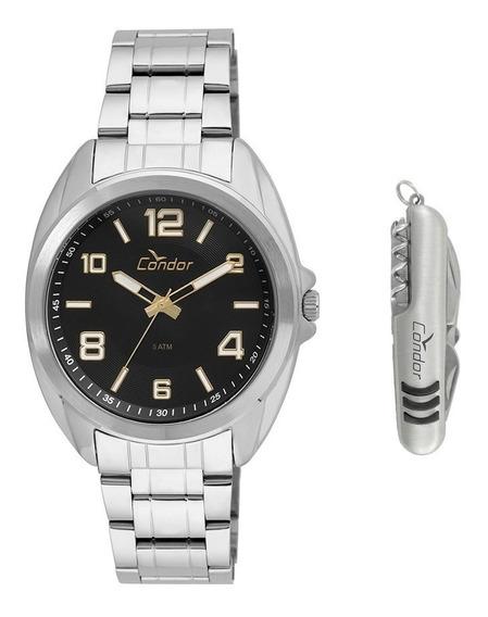 Kit Relógio Condor Masculino Co2035kui/k3p