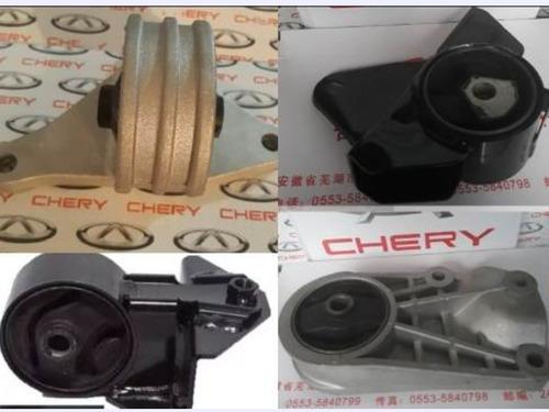Juego Kit Bases Motor Y Caja Chery Arauca Originales