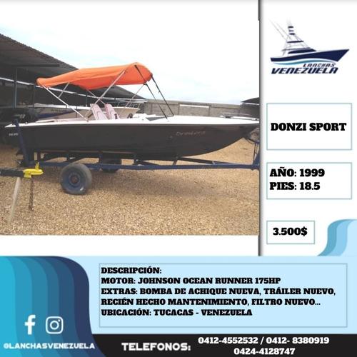 Lancha Donzi Sport 18.5 Lv594