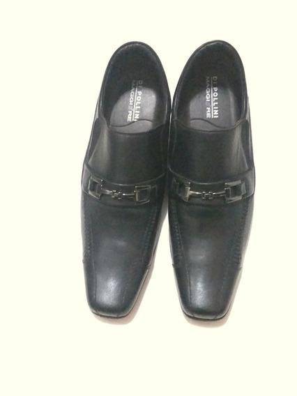 Sapato Usado Di Pollini Maggiore Confortavel Couro Legitimo