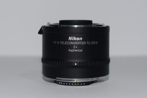 Teleconverter Profissional Nikon Tc-20e Iii 2.0x