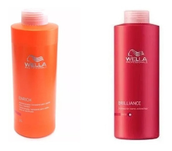 Wella Acondicionador Enrich Brilliance X 1000 Ml C/u