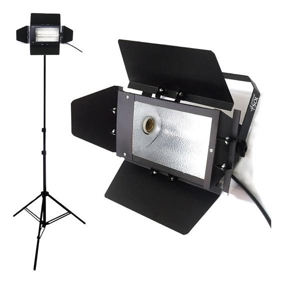 2x Kit Iluminador Foto E Vídeo Soquete E-27 - Tripé 2 Metros
