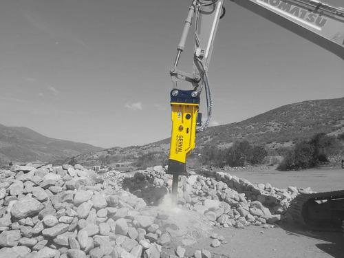 Imagen 1 de 10 de Martillo Hidráulico Para Excavadora / Nuevo