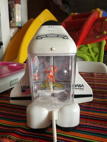 Imagen 1 de 7 de Juguete Juego Acuario Sea Monkeys Transbordador Espacial