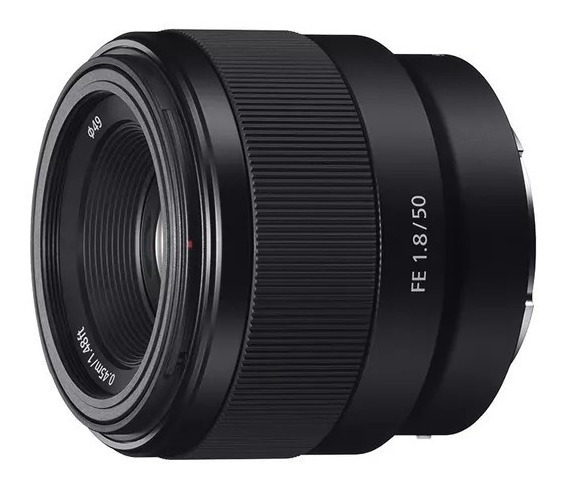 Lente Sony Sel-50f18 E 50mm F1.8 / Lente Sony 50mm Fulframe