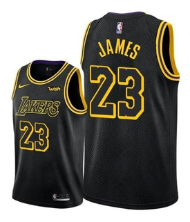 Camiseta Jersey Lakers Lebron James 23 Nba Elite