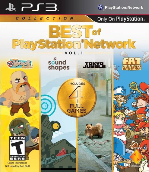 Best Of Playstation Network Vol 1 Original Ps3 Midia Fisica