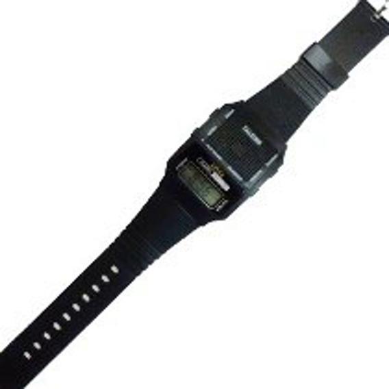 Relógio De Pulso Preto Masculino Que Fala A Hora - Talking