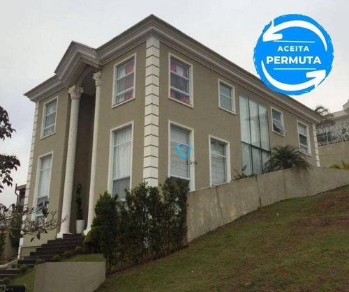 Casa Genesis 1 - 4 Suítes - Condomínio Fechado - Alphaville - Santana De Parnaíba - Ca1006