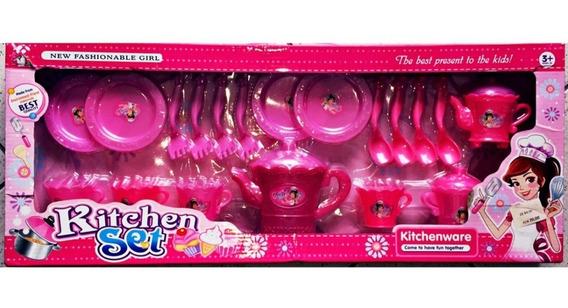 Kit Cozinha Infantil Kitchen Set
