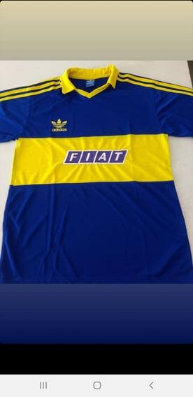 Camiseta Boca Retro Fiat