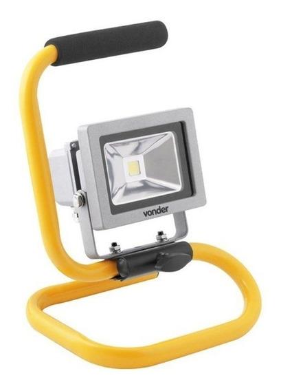 Lanterna Refletora Com Suporte 10w Llvt50 8075000750 Vonder