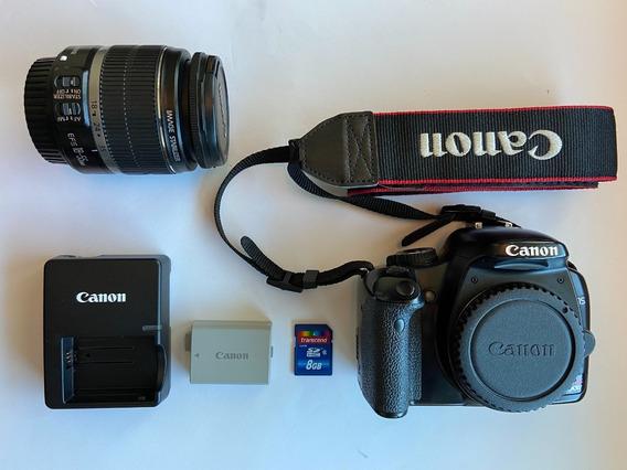 Câmera Fotográfica Canon Eos 450d Rebel Xsi