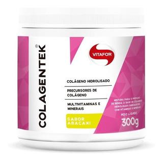 Colagentek Vitafor - Colágeno Hidrolisado - Abacaxi 300g
