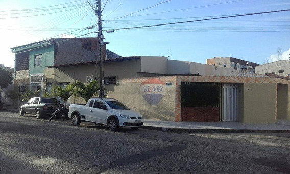 Casa De Esquina Com Ponto Comercial E Kitnet Na Parquelândia - Ca0020