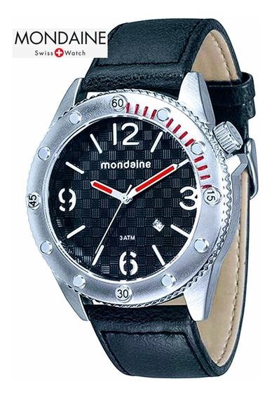 Relógio Masculino Analógico Mondaine 76411g0mgnh1 Calendário