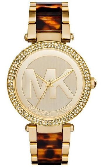 Relógio Michael Kors Feminino Parker Analógico Mk6109/4dn
