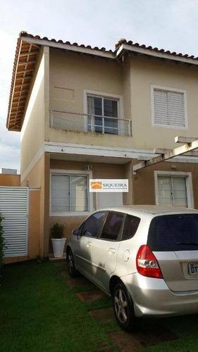 Casa Com 3 Dormitórios À Venda, 130 M² Por R$ 490.000,00 - Bairro Da Vossoroca - Sorocaba/sp - Ca0615