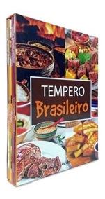 Box 4 Livros De Receitas Coleção Tempero Brasileiro Lacrado!