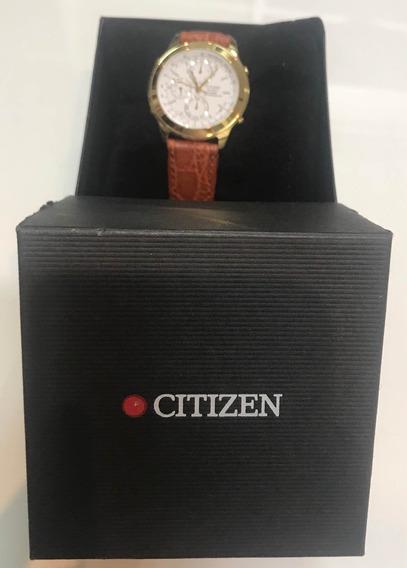 Relógio Citizen Chronograph G82089 Novo Na Caixa