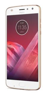 Motorola Moto Z2 Play 64gb Ouro Usado Excelente C/ Nf