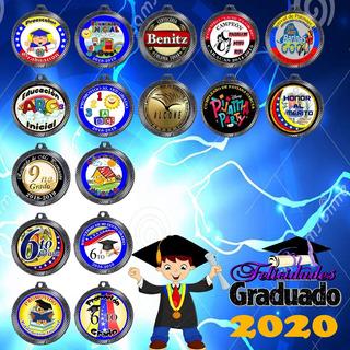 Medallas Vitrificadas De Graduación Y Deportes