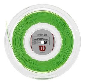 Cuerdas Wilson - Revolve Spin 17 Reel Gr - Tenis