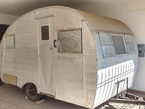 Rebajado! Antiguo Camper Casa Rodante King Trailer 1953