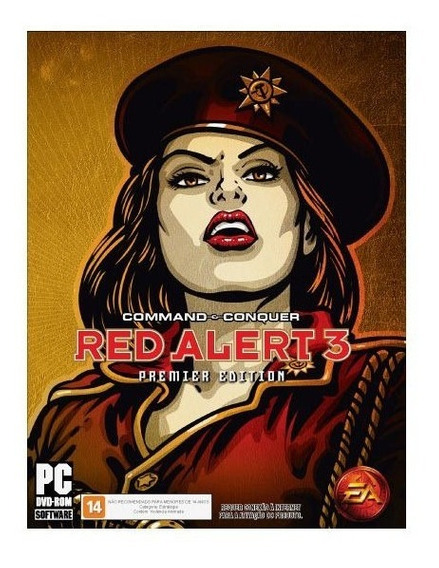Game Pc Command Conquer Red Alert 3 Premier Edition - Dvdr