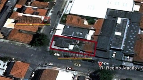 Terreno Em Vila Moinho Velho  -  São Paulo - 3746