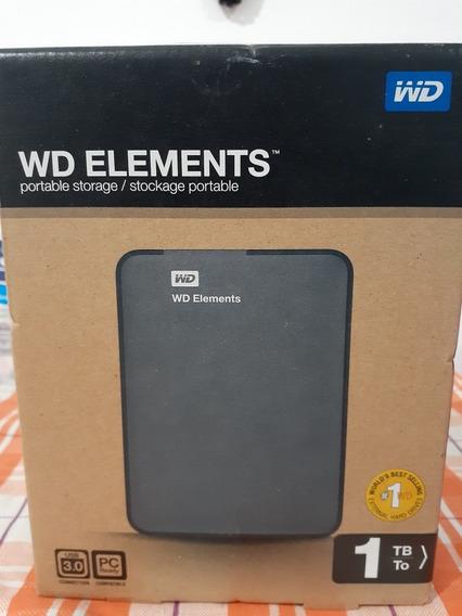 Disco Rígido Hd Wd Elements 1tb