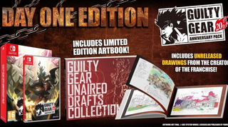 Guilty Gear 20th Anniversary Edition Pack Art Book Switch