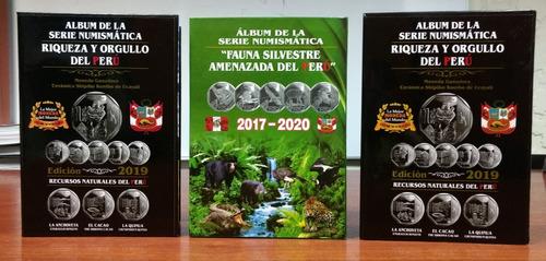 Album Coleccion De Monedas Del Peru