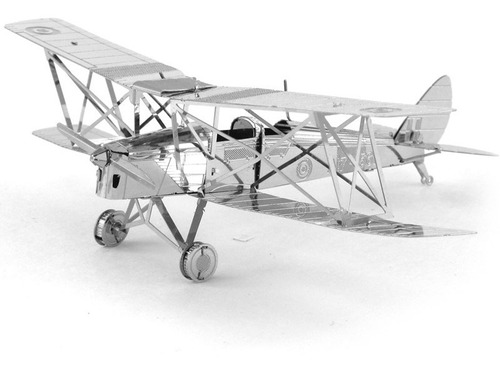 Havilland Tiger Rompecabezas Metálico 3d En Stock! Envío Ya!