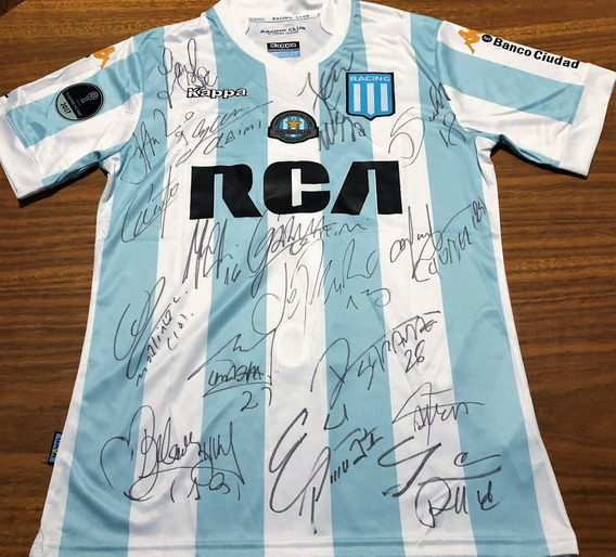 Camisa Do Racing Autografada Elenco Sulamericana 2017