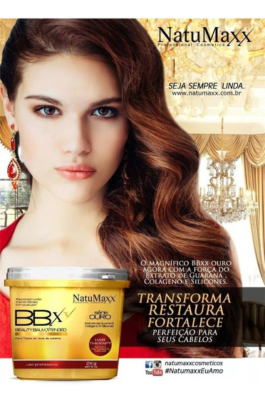 Bbxx Serie Ouro Com Guaraná Natumaxx 2kg - Produto Original