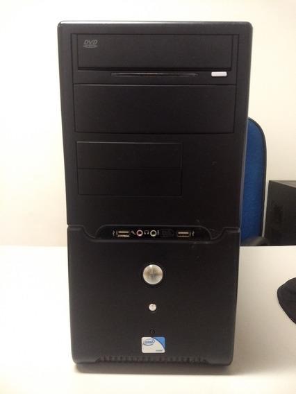 Computador Cpu Intel Core2quad Q6600 2,4ghz, 4gbram, Hd320gb