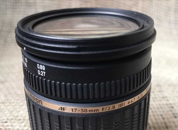 Lente Tamron Para Nikon 17-50mm F/2.8