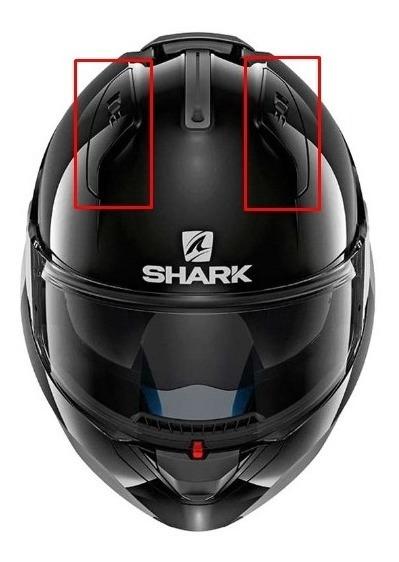 Tapas Superiores Tomas De Aire Para Cascos Shark Evo One